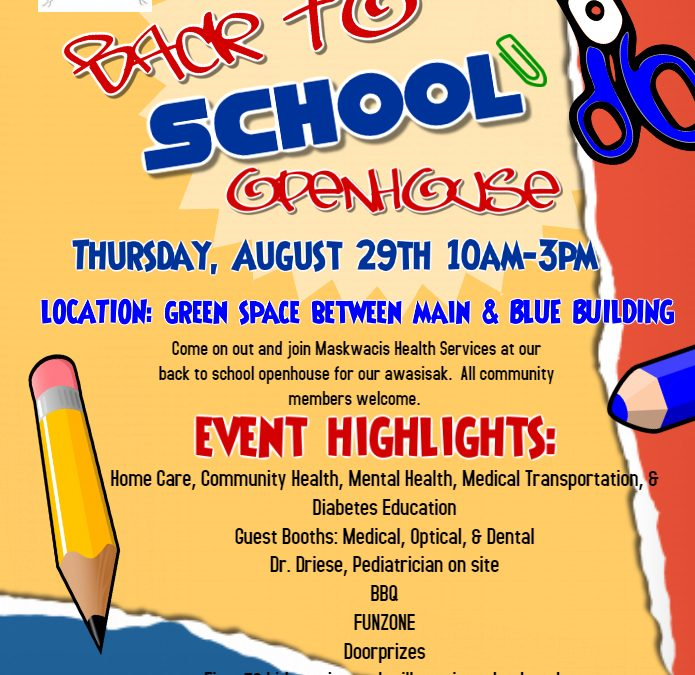 Back to School Openhouse