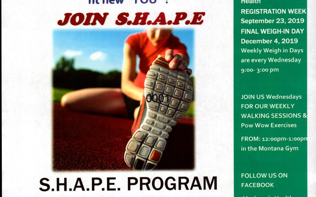 Montana SHAPE Program