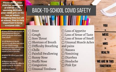 Back to school COVID Safety