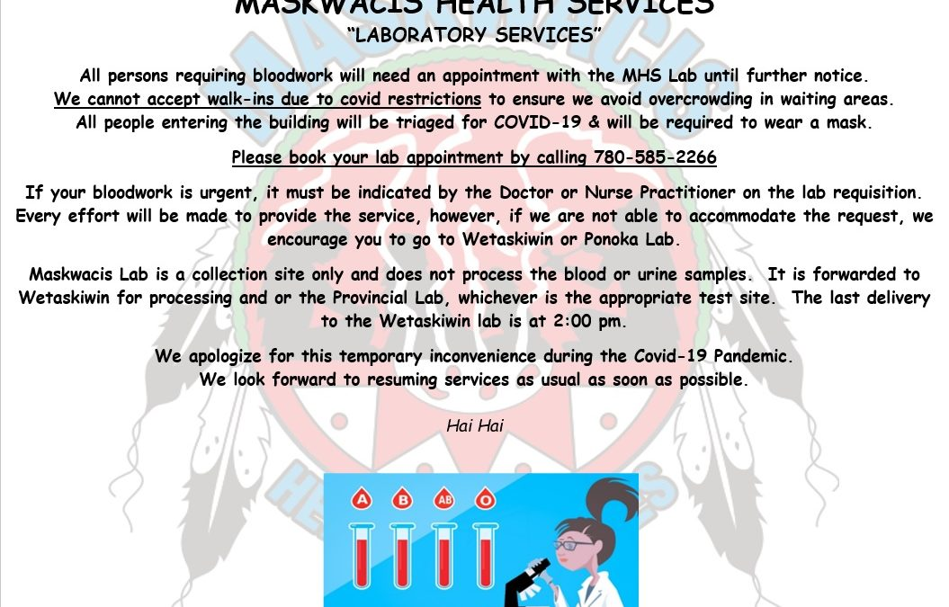 MHS Laboratory Services Update