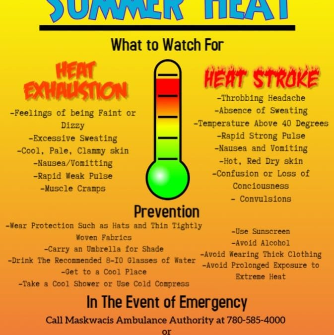 Beat The Summer Heat!